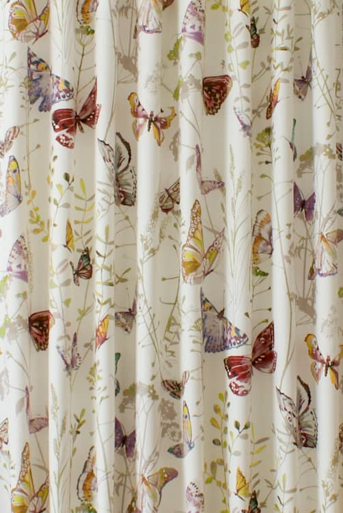 Admiral Rose Quartz Curtain Fabric