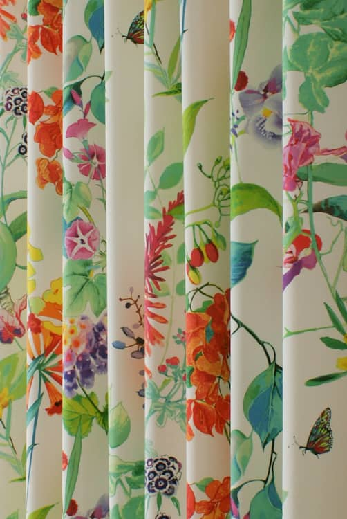 Bougainvillea Spring Curtain Fabric