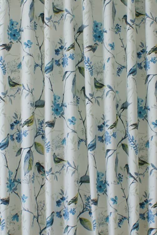 Birdsong Larkspur Made to Measure Curtains