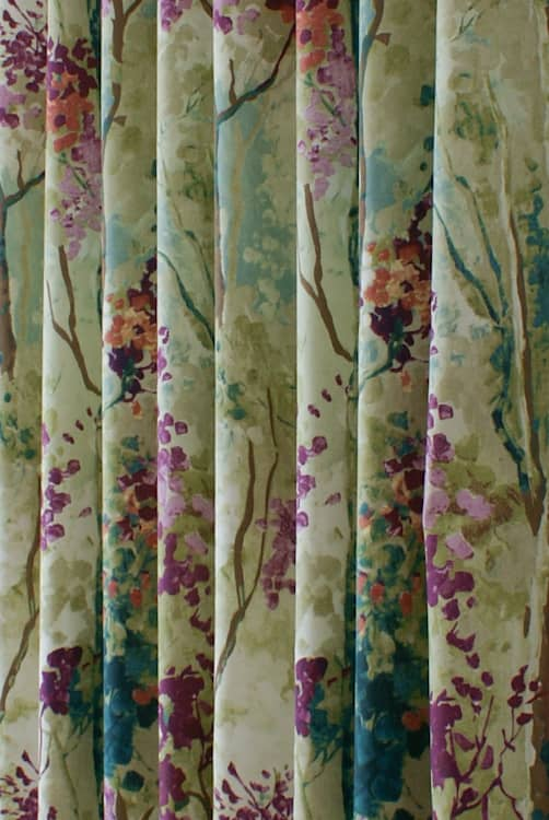 Silver Birch Jewel Made to Measure Curtains
