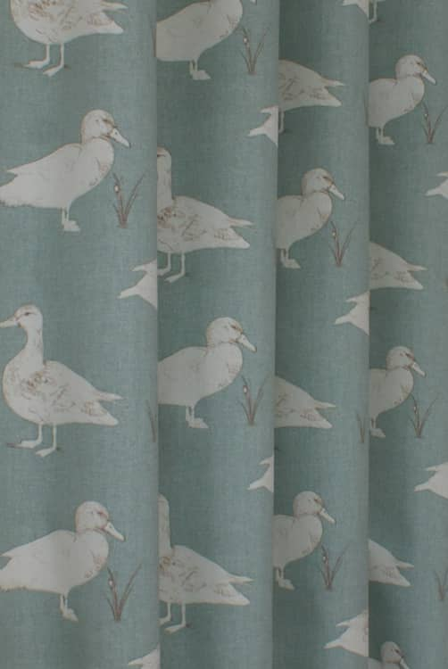 Ducks Bleu Made to Measure Curtains
