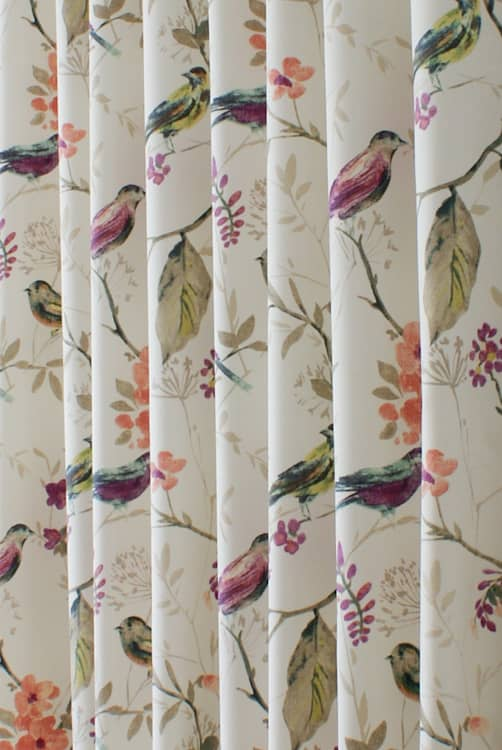 Birdsong Jewel Made to Measure Curtains