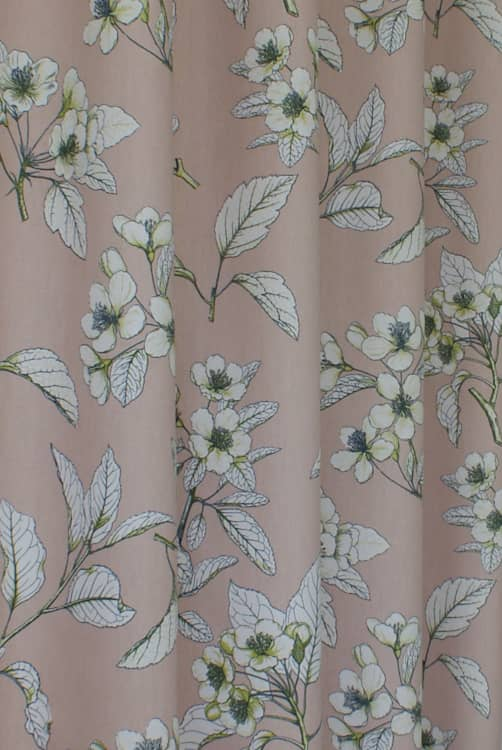 Cherry Blossom Petal Curtain Fabric