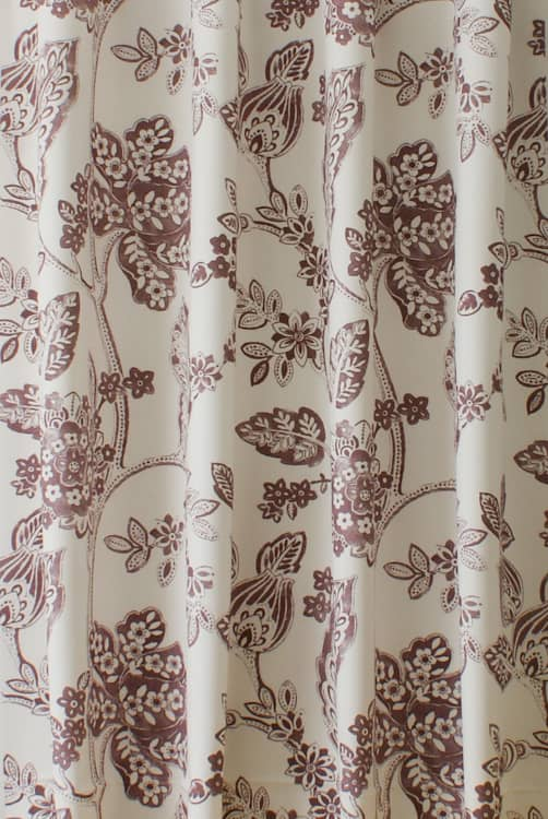 Elysee Rose Quartz Curtain Fabric