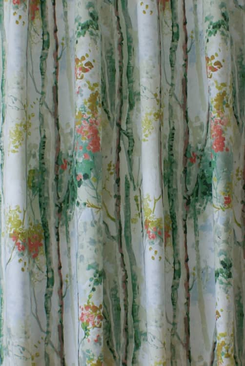Silver Birch Willow Made to Measure Curtains