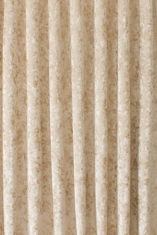 Bling Velvet Beige Curtain Fabric