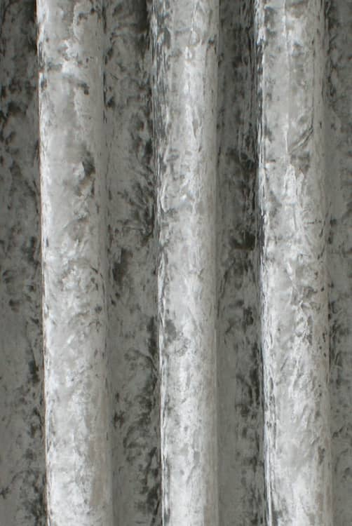 Bling Velvet Silver Made to Measure Curtains