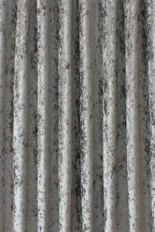 Bling Velvet Steel Grey Made to Measure Curtains
