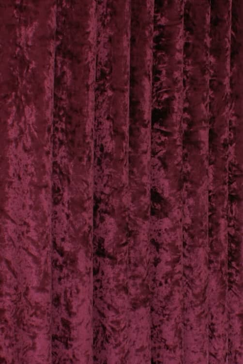 Bling Velvet Wine Made to Measure Curtains