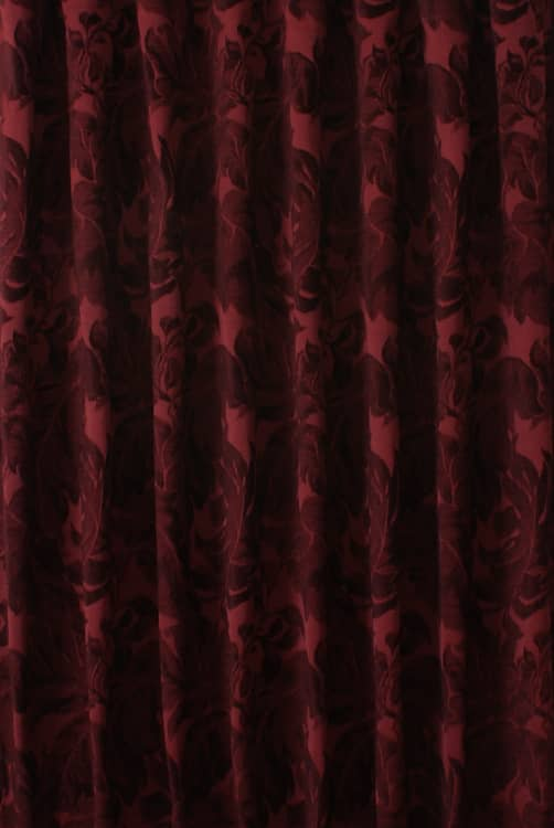 Corinthian Cherry Curtain Accessories