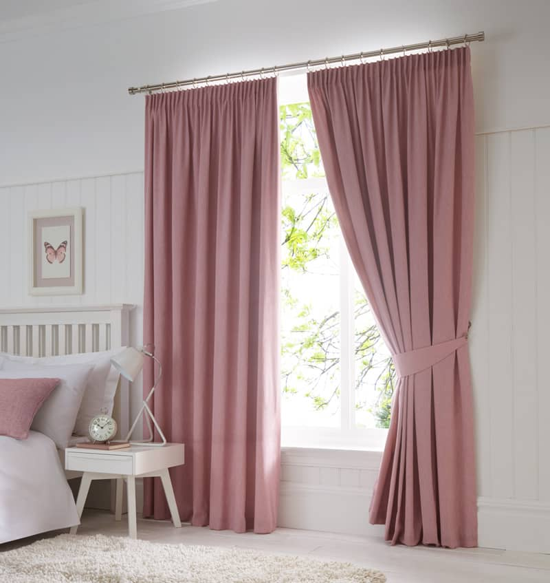 Dijon Blush Ready Made Curtains