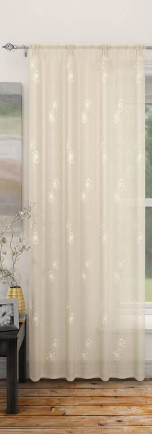 Analise Cream Voiles & Voile Panels