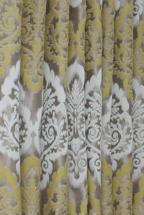 Winslow Mimosa Curtain Fabric