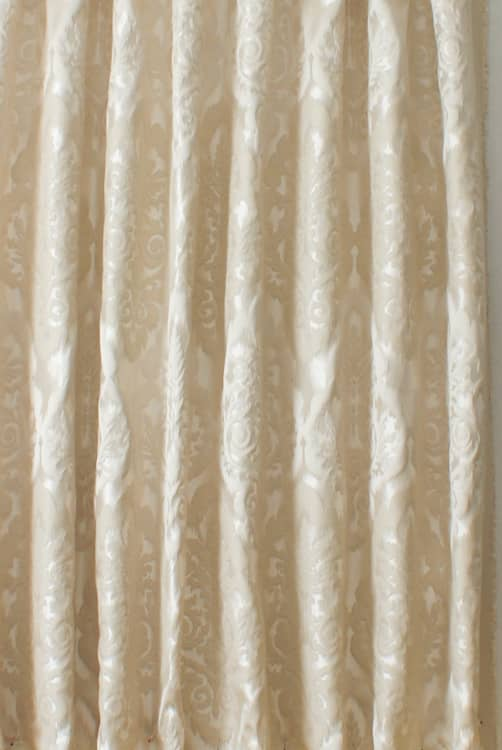 Winslow Oyster Curtain Fabric