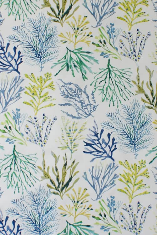 Coral Seaweed Made to Measure Curtains