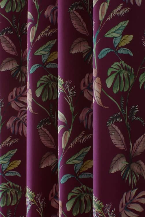 Kew Garnet Roman Blinds