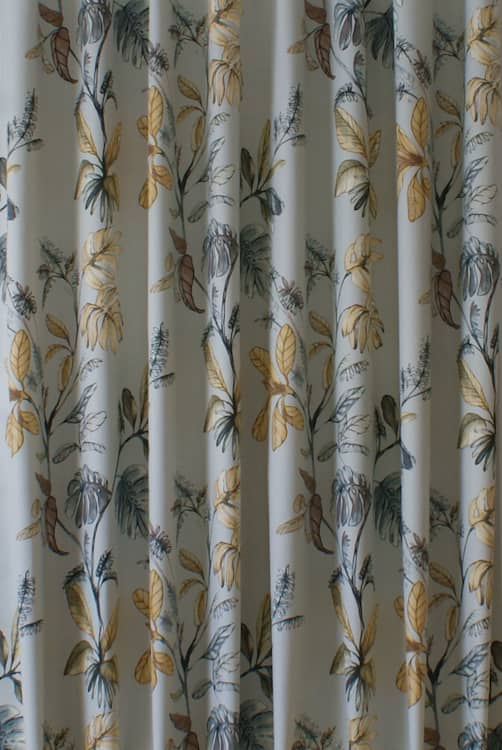 Kew Vellum Curtain Fabric