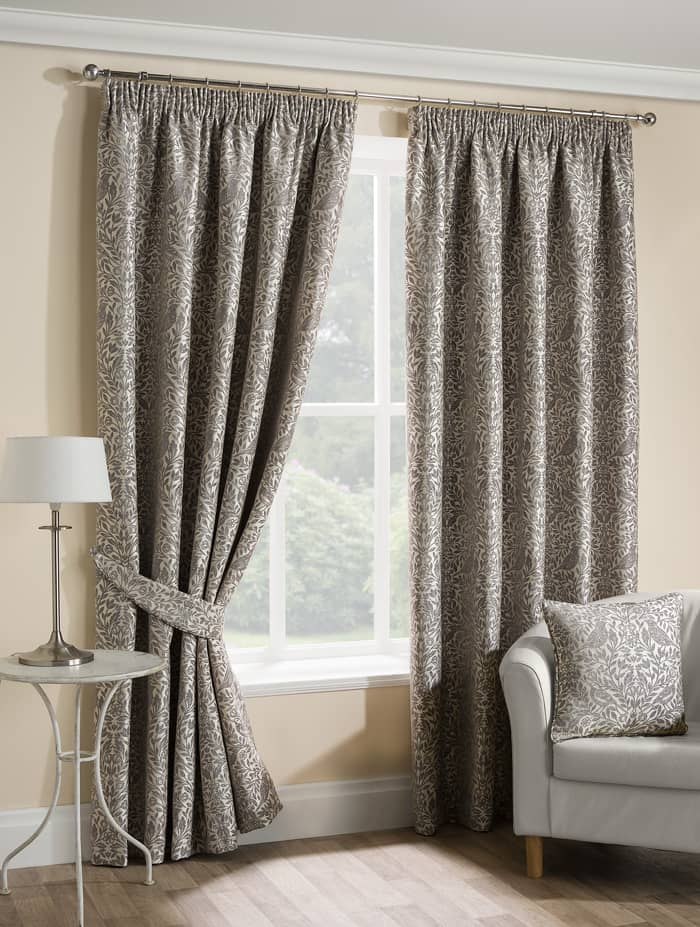 Eden Grey Ready Made Curtains