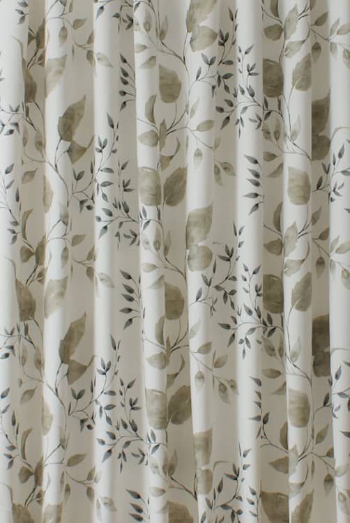 Ashton Natural Curtain Fabric