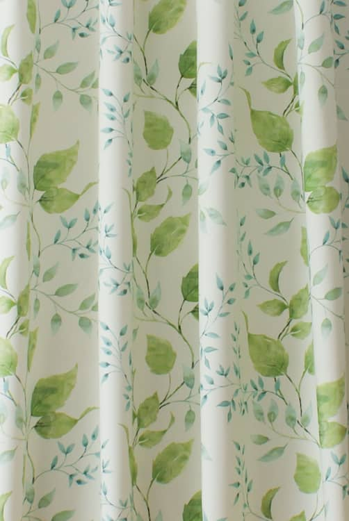 Ashton Teal Curtain Fabric