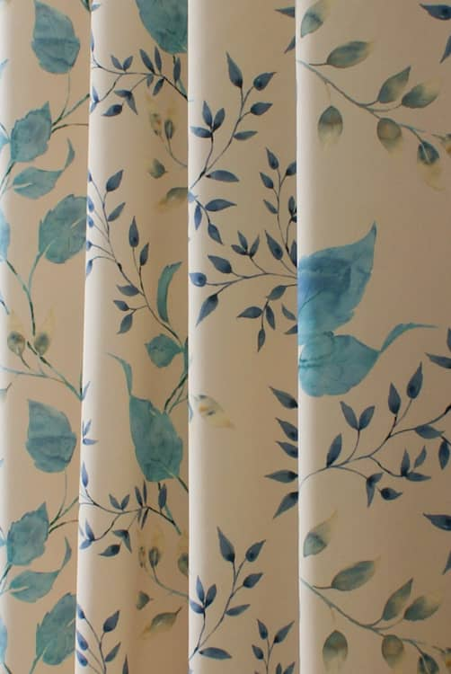 Ashton Blue Made to Measure Curtains