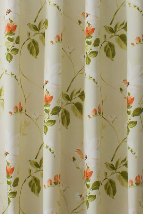 Witton Amber Curtain Fabric