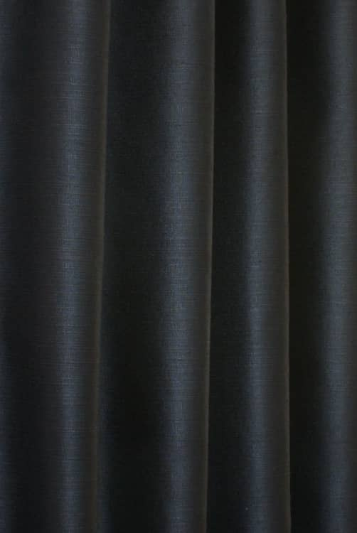 Precious Black Curtain Fabric