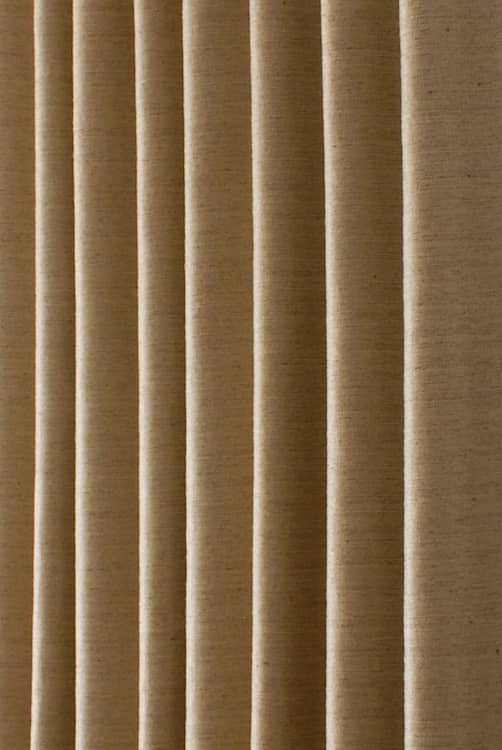 Precious Gold Roman Blinds