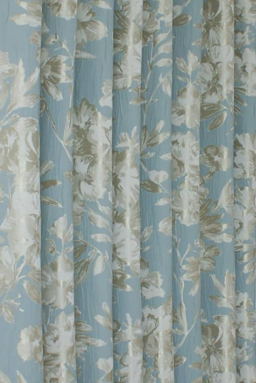 Pernilla Duck Egg Curtain Fabric