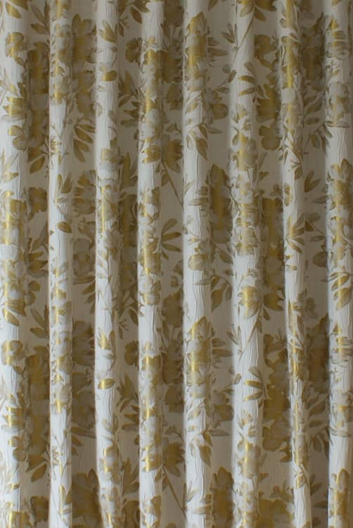 Pernilla Gold Curtain Accessories