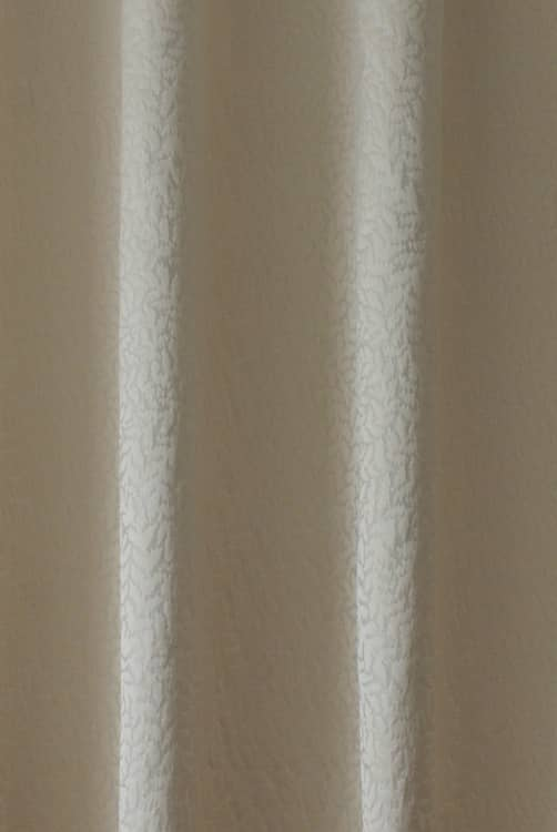 Sinuate Champagne Curtain Fabric
