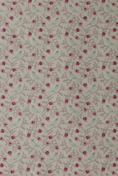 Birdsong Chintz Curtain Fabric