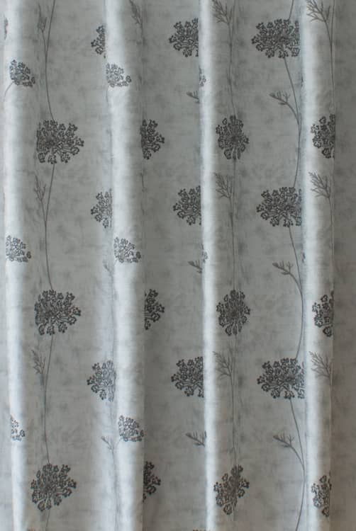Nedla Smoke Made to Measure Curtains