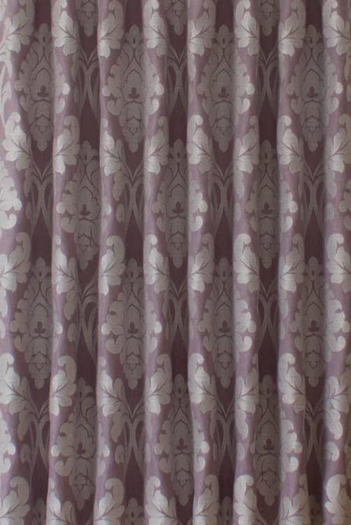 Buckingham Mauve Roman Blinds