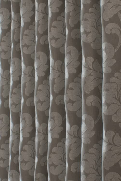 Buckingham Pewter Made to Measure Curtains