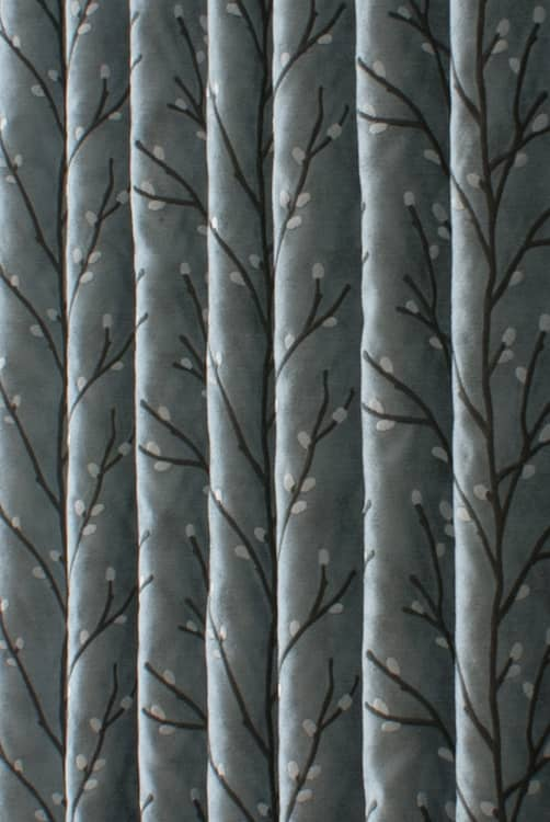 Lovell Aqua Roman Blinds