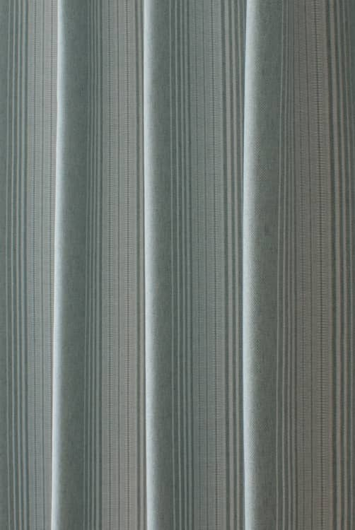 Oxford Teal Curtain Fabric