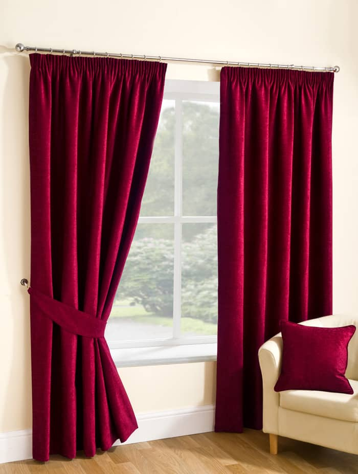 Rico Pencil Rouge Ready Made Curtains