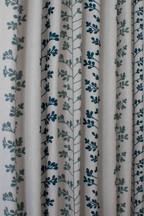 Liv Navy Roman Blinds
