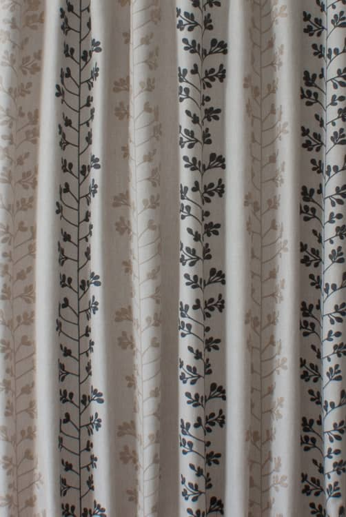 Liv Steel Curtain Fabric