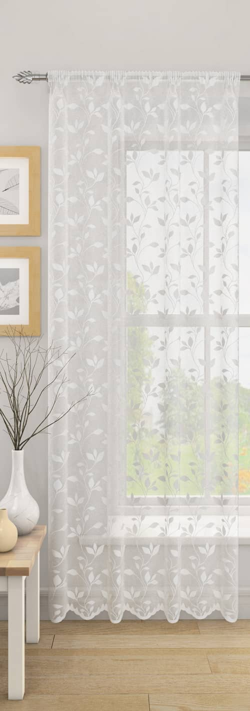 Evie White Voiles & Voile Panels
