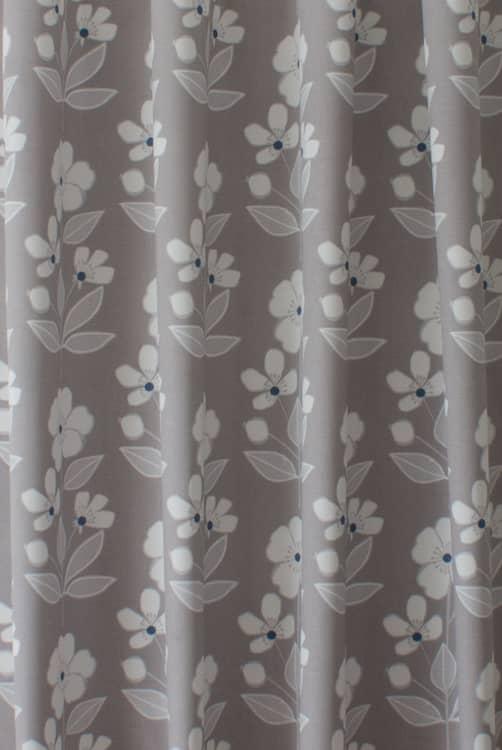 Freya Light Taupe Curtain Fabric