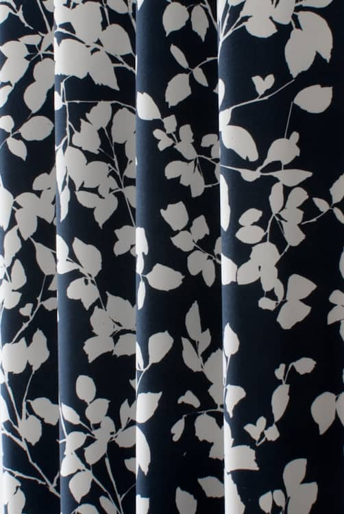 Roux Navy Made to Measure Curtains