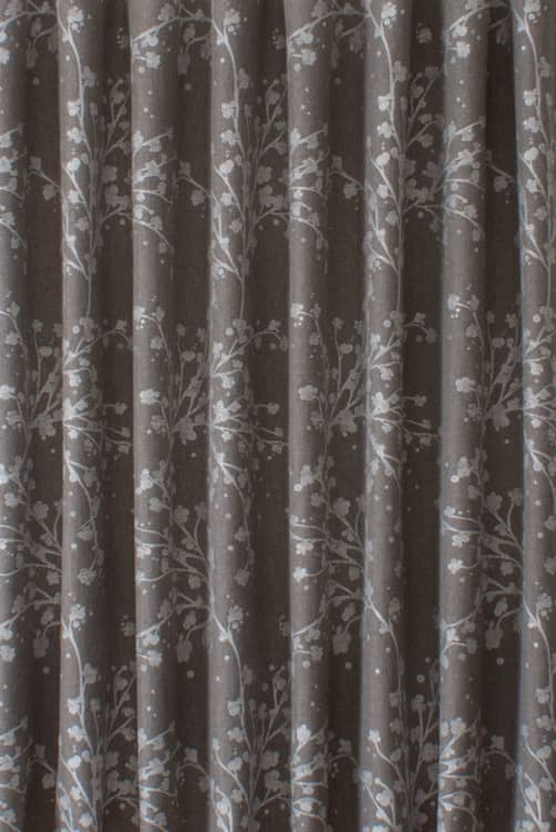 Ashburton Grey Curtain Fabric