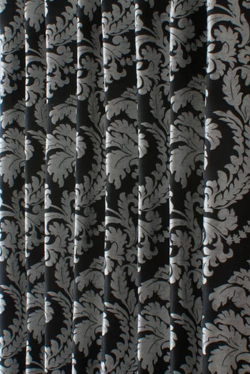 Louella Black Made to Measure Curtains
