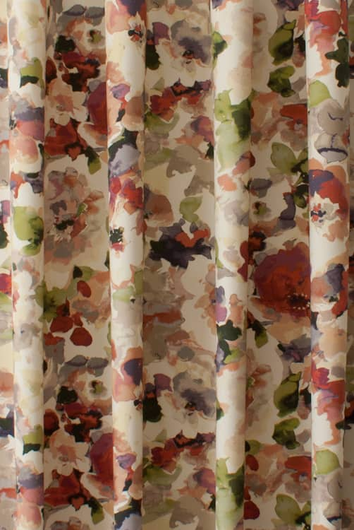 Darla Chintz Curtain Fabric