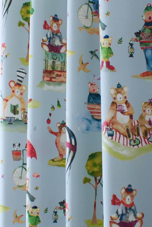 Little Bear Sky Made to Measure Curtains