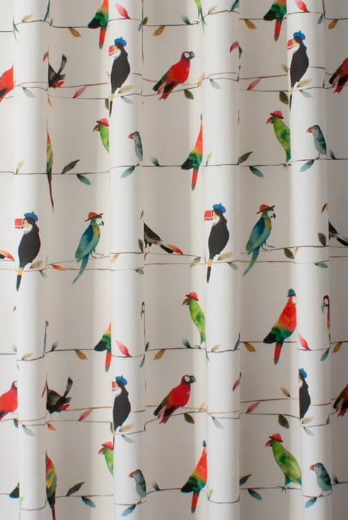 Toucan Talk Paintbox Made to Measure Curtains