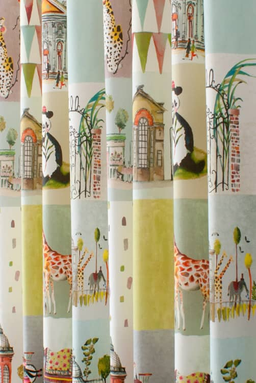 Day Out Marshmallow Curtain Fabric