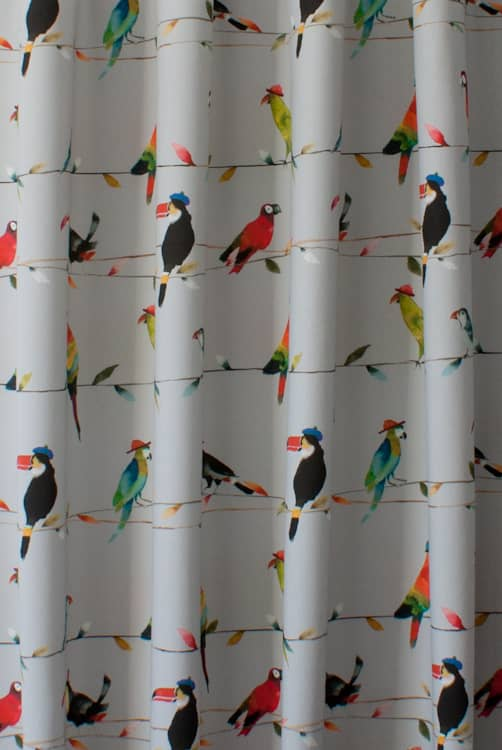 Toucan Talk Tropical Made to Measure Curtains